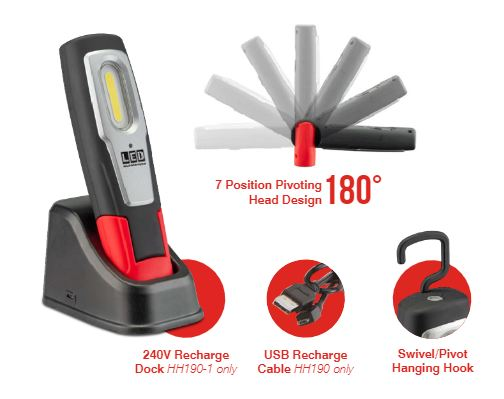 Rechargeable Workshop Inspection Lamp