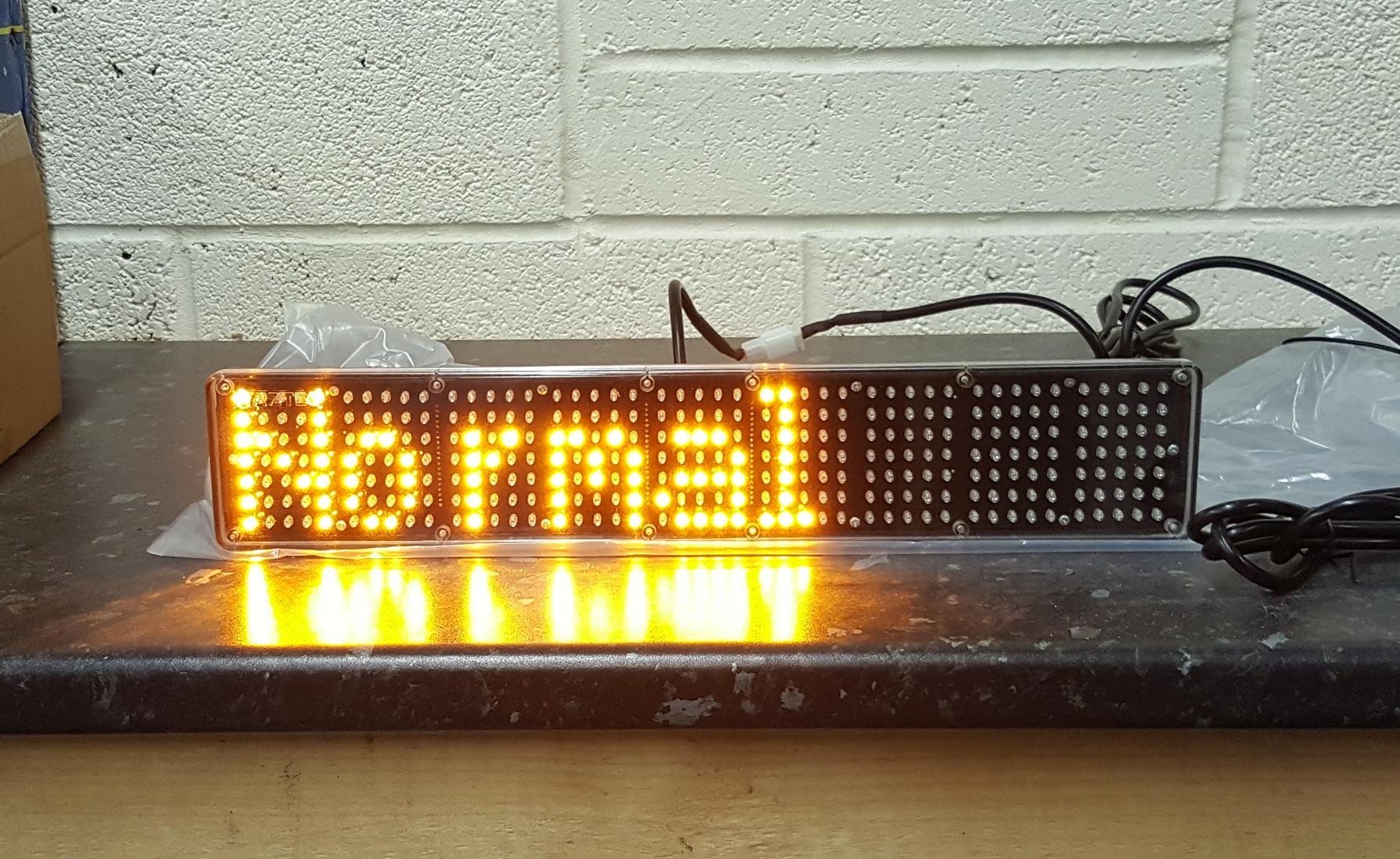 Haztec 464mm LED message display