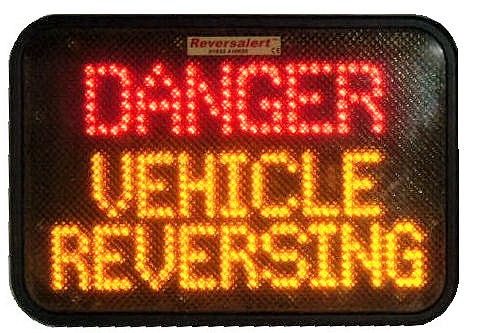 Reversalert Rear LED message sign