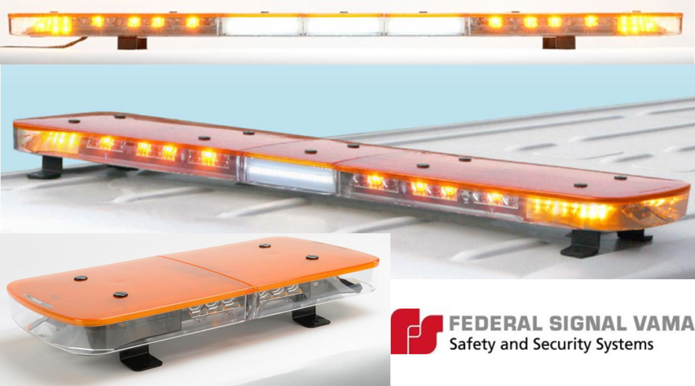 Federal Signal Aurum Solaris LED lightbar