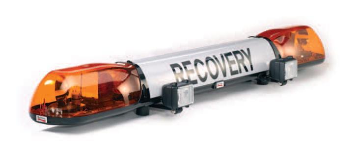 Britax Aerolite Quot Recovery Quot Rotator Lightbar