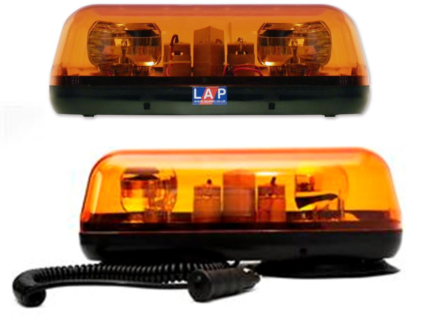 LAP Compact Rotating and LED Lightbars (CLB Range)