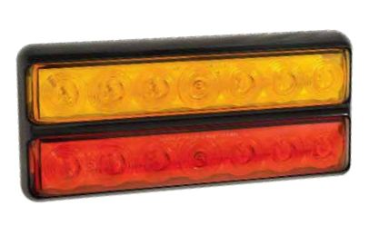 207 Series Double Slimline Combination Rear Lamps