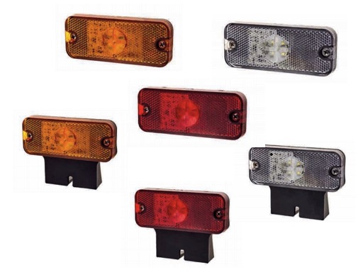 LAP CV211-3 Series Side Marker Lamp rectangle