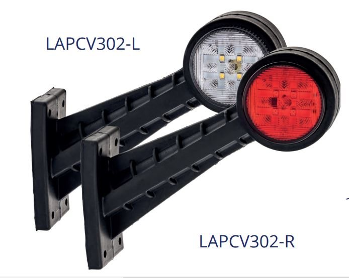 LAPCV302-3 Series Flexible Marker Lamp