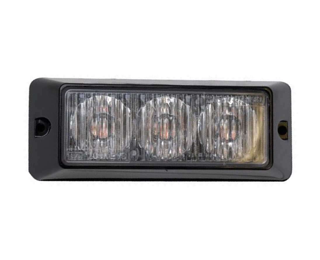 Britax L55 LED Surface Mount R65 Amber Warning Lamp