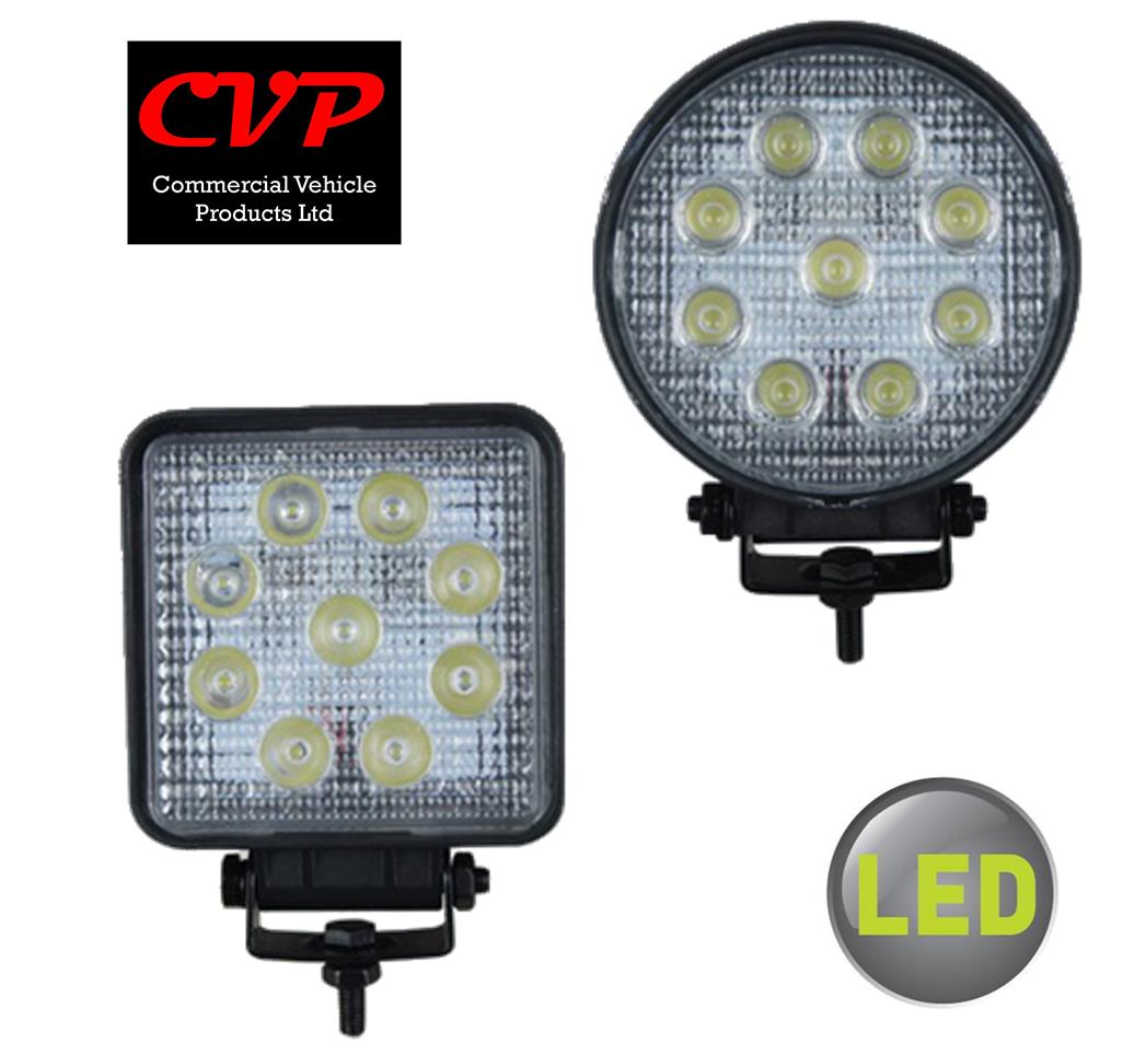 Commercial Vehicle Lighting: CVP LED Work Lamps