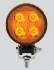 LED Autolamps Compact Round Work Lamp 9012 Series