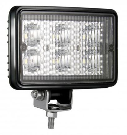 LED Autolamps High-Power E-Coated Rectangular Work Lamp
