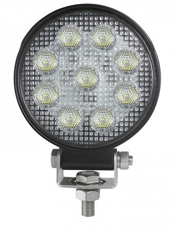 LED Autolamps IP69k High-Power Round Flood lamp