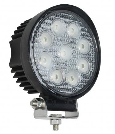 LED Autolamps High-Powered Round Flood Lamp